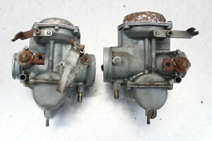 Pair Carburetor For Honda CB350 CB350G  CL350 From CA