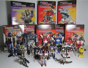 Vintage G1 Transformers Reissue Lot SKYWARP PROWL SOUNDWAVE SIDESWIPE INFERNO