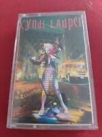 Cyndi Lauper A Night To Remember Cassette Tape (inc I Drove All Night)