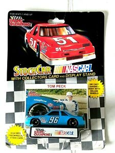 1992 Racing Champions 1:64 Die Cast NASCAR #96 NEW Oldsmobile Cutlass Tom Peck