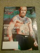 UFC MMA CONOR MCGREGOR AUTHENTIC SIGNED AUTOGRAPHED SPORTS ILLUSTRATED MAGAZINE!