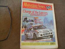 Motoring News 15 February 1995 Snowman Wyedean & Swedish Rally Pacific Lotus F1
