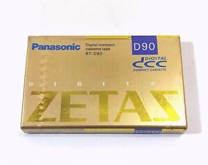 【Rare!】Panasonic DCC Digital Compact Cassette Tape RT-D90 Made in JAPAN #0900-1