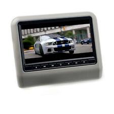 "9"" 17,8 cm LCD TFT Kopfstützen AUTO Monitor DVD Player USB SD universal grau"