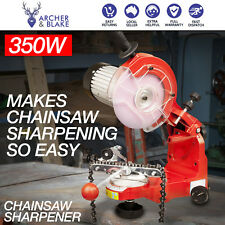 Chainsaw Sharpener 350w Alloy Chain Saw Bench Lock Mount Electric Grinder Tool
