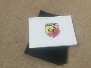 FIAT ABARTH 595/695 OWNERS MANUAL HANDBOOK & ABARTH WALLET 2016-2020 FAST POST