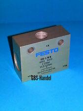 FESTO OS-1/8-B 6681 ODER-Glied Pneumatik Top Zustand 1D01