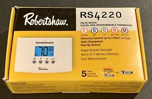 Robertshaw Thermostat RS4220 - New In Original Box