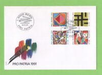 Switzerland 1991 Pro Patria set on First Day Cover