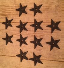 "Center Hole Star Small 2 3/4"" wide Cast Iron (Case of 12) DIY Crafts 0170J-02108"
