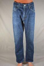 LEVI'S 505 Regular Fit Jeans Hommes Bleu w32 l32 (l30); k31 49