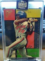 2020 Topps Archives Signature Series - Rondell White Buyback Auto - #1/1