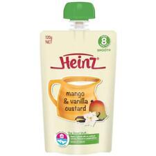Heinz Mango Vanilla Custard Pouch 120g 8m