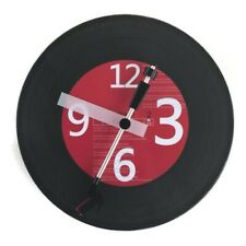 """NEW 12"""" Vinyl Record Wall Clock with Turntable Stylus as Wall Art Home Decor"""