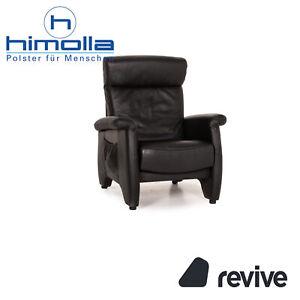 Himolla Ergoline Leather Armchair Black Function