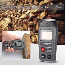 EMT01 LCD Detector Medidor Humedad Madera Digital Higrometro 2 Pines Sonda