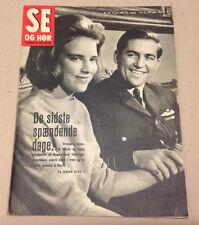 QUEEN ANNE-MARIE KING CONSTANTINE II OF GREECE GREEK ROYALS Danish Magazine 1969