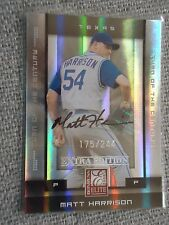 Matt Harrison 2008 Elite Extra Edition Turn Of The Century Autograph #175/244