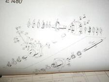 Gutbrod fraise à neige pour MF100 1970 : catalogue de pièces