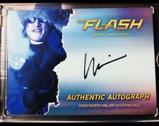 The Flash Season 1 Wentworth Miller Autograph card - WM2