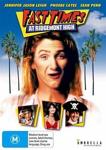 Fast Times At Ridgemont High ( DVD ) Brand New! Region 4