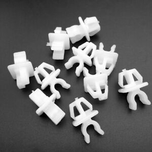 10pc Hood Support Prop Rod Clip Holder 53452-90351 For Toyota 4Runner Tacoma New
