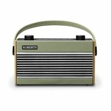 More details for roberts rambler bt portable dab/fm radio & bluetooth speaker in green