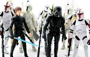 "Star Wars 6"" Black Series & Jedi Force Figures Selection"