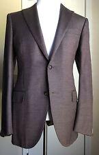 New $2495 Ermenegildo Zegna Sport Coat Blazer DK Purple 42 US ( 52 Eur ) Italy