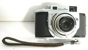 Vintage Minolta 'A' 35mm Film Rangefinder Camera.