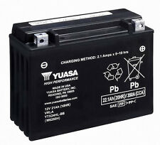Yuasa SEALED BATTERY for 2008-15 Can Am Spyder RT GS RS NEW! (YTX24HL-BS)