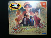DC Brand New Shenmue II Limited Package Sega Dreamcast Japan