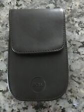 Dell Axim PDA Leather Holster Custom Made for Dell Axim X30 Model