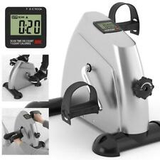 Mini Exercise Bike Pedal LCD Exerciser Arm Leg Resistance Cycle Exercise Bike US
