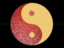 PAINTING DRAWING YIN YANG CHINESE TAOIST PHILOSOPHY ART PRINT POSTER MP3888A