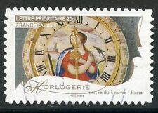 TIMBRE FRANCE AUTOADHESIF OBLITERE N° 254 / METIERS D'ARTS / HORLOGERIE