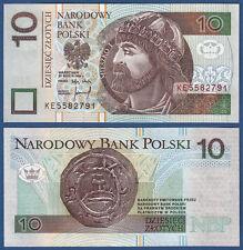 POLEN / POLAND 10 Zlotych 1994  UNC  P.173