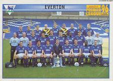N°378 TEAM EVERTON.FC STICKER MERLIN PREMIER LEAGUE 1996