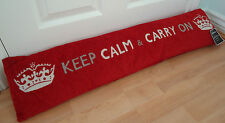 Keep Calm & Carry On Draught Excluder. 2 FOR £10 FREE P&P