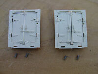 Lionel 3472-46 3472 3482 Milk Car Door's 2 Sets w springs for Lionel Milk Cars