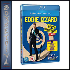 EDDIE IZZARD - FORCE MAJEURE LIVE  *BRAND NEW  BLU-RAY *
