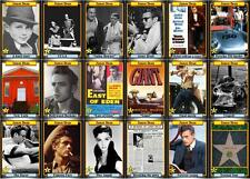 James Dean Tribute Movie Trading Cards