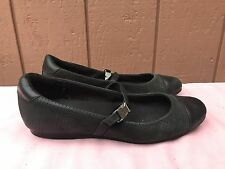 Cole Haan Nike Air Black Mary Jane Flats Womens 8.5  Ballerina Ballet Shoes