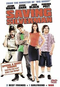 Saving Silverman (DVD, 2001, R-Rated With Extra Footage) DVD Disc Only V9