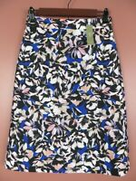 SK13738-NWT J. CREW Womens 100% Polyester Slightly A-Line Skirt Floral Sz 0 $110