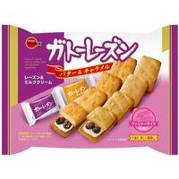 "Bourbon, ""Gateau Raisin"" Soft Cookie Sandwiches, Butter & Caramel, 10pc in 1 bag"