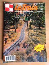 Revue Le TRAIN  Supplément autos miniatures N° 54 octobre 1992
