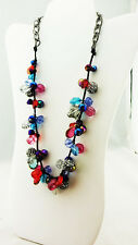 INC International Multi-Stone Necklace  Msrp $36.50*NEW WITH TAG*