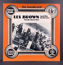 Les Brown and Orchestra w/ Doris Day 1944-1946 The Uncollected LP Vinyl HSR-103