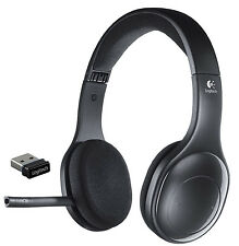 Logitech H800 Wireless Computer Headset Noise Cancellation 981-000337 Black New